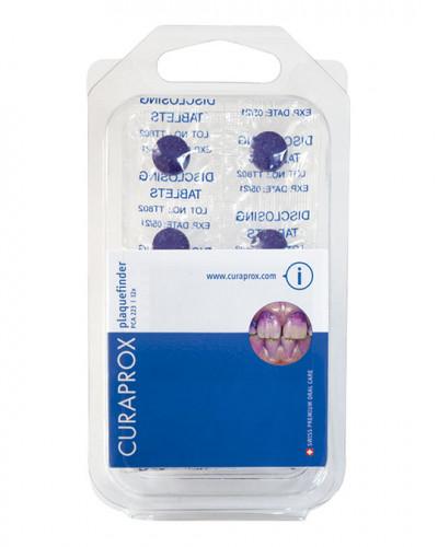 Plaque disclosing tablets, 12 pieces