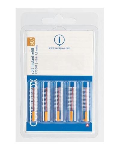 Interdental brush refill implant, 507