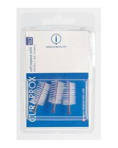 Hambavaheharjade täitepakk, proteesidele, 512