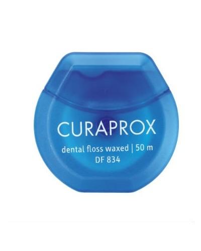 Dental floss, waxed, 50 m