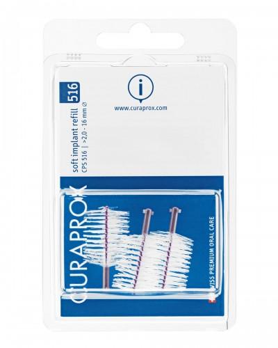 Interdental brush refill implant, 516