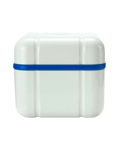 Cleaning box for dentures BDC, blue